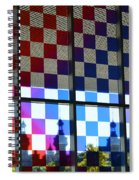 University Of Tampa Through A Rainbow By Sharon Cummings Spiral Notebook