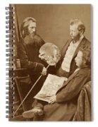 Unknown Artists Spiral Notebook