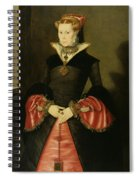 Unknown Lady From The Court Of King Spiral Notebook