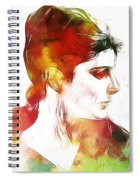Unknown Lady Spiral Notebook