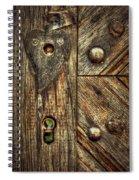 Unlock My Heart Spiral Notebook