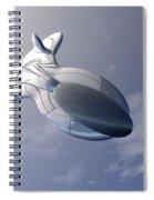 Unmanned Spaceship Spiral Notebook