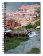Unspoiled Waterfall Spiral Notebook