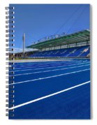 Until The Race Is Run Spiral Notebook