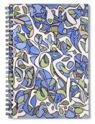Untitled #36 Spiral Notebook