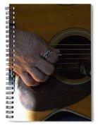 Untitled Detail Spiral Notebook