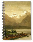 Untitled Mountains And Lake Spiral Notebook