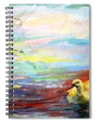 Untitled Watercolor       Spiral Notebook