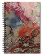 Untitled Watercolor 1998 Spiral Notebook