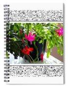 Unusual Simultaneous Bloomers 2 Spiral Notebook