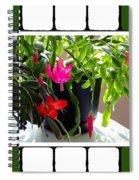 Unusual Simultaneous Bloomers 5 Spiral Notebook