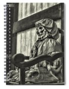 Unusual Statue 2 Spiral Notebook