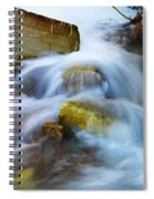 Unyeilding Rock Spiral Notebook