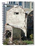 Unzipped Spiral Notebook