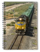 Up 8587 Southbound From Tipton Spiral Notebook