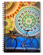 Up Against A Wall Spiral Notebook