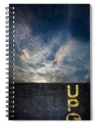 Up At Sunrise Spiral Notebook