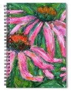 Up Close And Magenta Spiral Notebook