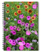 Up Close In The Garden I Spiral Notebook