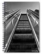 Up Escalator Spiral Notebook