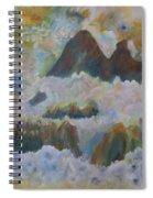 Up On Cloud Nine Spiral Notebook