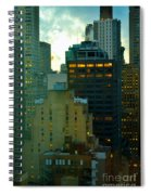 Up - Skyscrapers Of New York Spiral Notebook