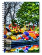 Up The Creek Without A Paddle Spiral Notebook