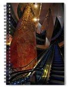 Up The Down Escalator Spiral Notebook