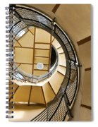 Up The Staircase Spiral Notebook