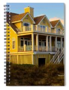 Up The Stairs At Isle Of Palms Spiral Notebook