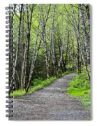Up The Trail Spiral Notebook
