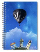 Up Through The Atmosphere Spiral Notebook