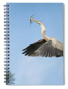 Up To The Nest Spiral Notebook