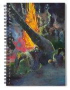 Upa Upa.the Fire Dance Spiral Notebook