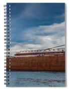 Upbound At Mission Point 2 Spiral Notebook