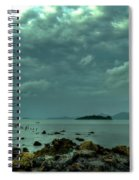 Upcoming Rain Spiral Notebook