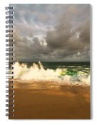 Upcoming Tropical Storm Spiral Notebook