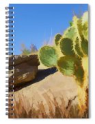 Uphill All The Way Spiral Notebook