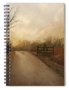 Uphill At Sunrise Spiral Notebook