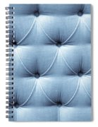 Upholstery Background Spiral Notebook