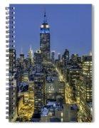 Upon A Restless Night Spiral Notebook