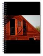 Upper Barn Door-3704 Spiral Notebook