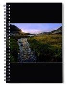 Upper Blue Sunrise Spiral Notebook