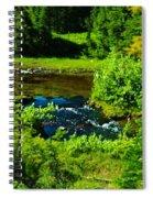 Upper Dewey Creek Spiral Notebook
