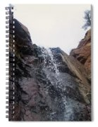 Upper Dorothy Falls 2 Spiral Notebook