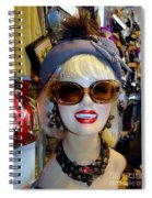 Upper East Side Lady Spiral Notebook