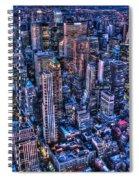 Upper East Side Skyline Spiral Notebook