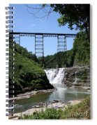 Upper Falls Of The Genesee River  Spiral Notebook