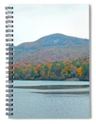 Upper Lake Toxaway In The Fall 2 Spiral Notebook