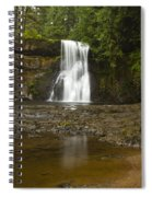 Upper North Silver Falls 2 Spiral Notebook